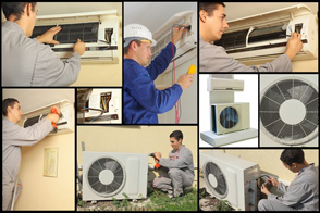 Home and commercial air conditioning systems maintenance
